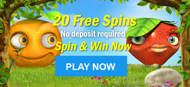 20 Free Spins for Fruity Friends No Deposit Required