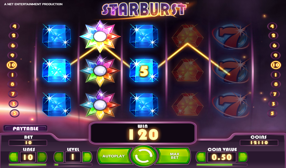 Play Starburst Slots at Winnings.com